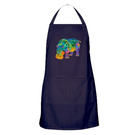 Best HIPPO in Many Colors Apron (dark)