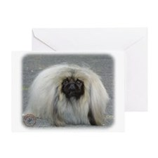 Pekingese 9R072D-026 Greeting Card