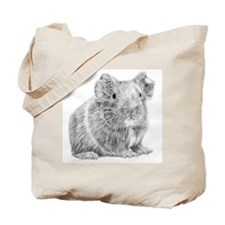 Guinea Pig/Cavy Illustration Tote Bag