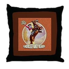 The Wild West... Throw Pillow