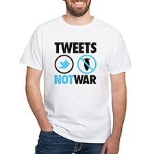 Tweets Not War Shirt