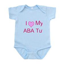 Pink ABA Tutor Body Suit