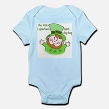 leprechaun needs hug Infant Bodysuit