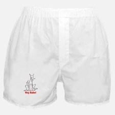 Hey Babe! Red Rocket Boxer Shorts