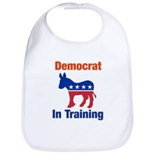 Democrat In Training Bib