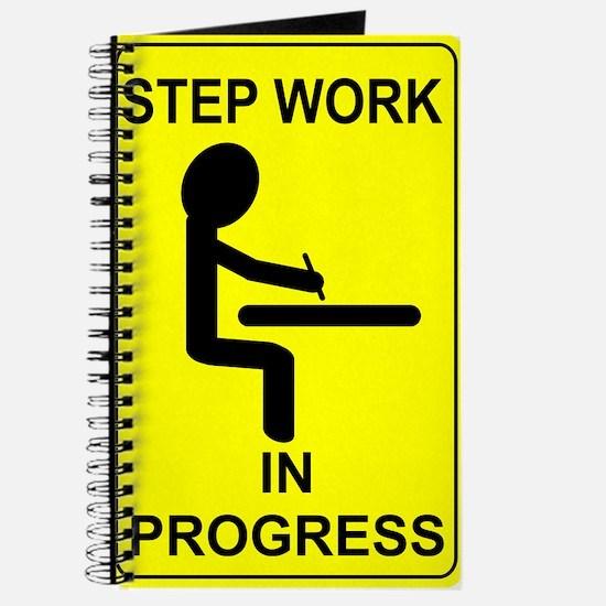 Step Work In Progress Journal