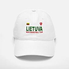 Lietuva Men's Basketball Baseball Baseball Cap