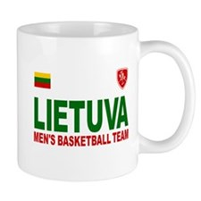 Lietuva Men's Basketball Mug