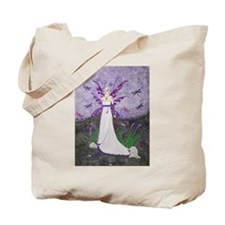 Dragonfly Lillies Tote Bag