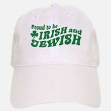 Irish and Jewish Baseball Baseball Cap