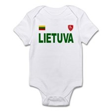 Lietuva Olympic Style Infant Bodysuit