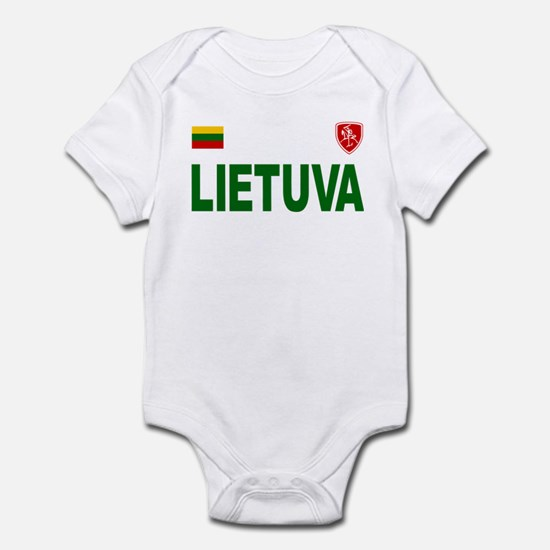 Lietuva Olympic Style Infant Bodysuit