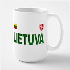 Lietuva Olympic Style Ceramic Mugs