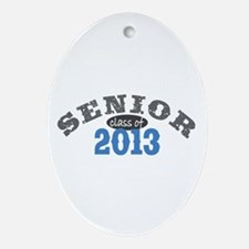 Senior Class of 2013 Ornament (Oval)