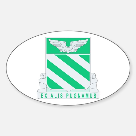 DUI - 2nd GS Bn - 3rd Aviation Regt Sticker (Oval)