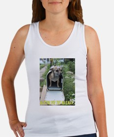 Waiting for the Mailman Women's Tank Top