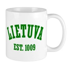 Classic Lietuva Est. 1009 Mug