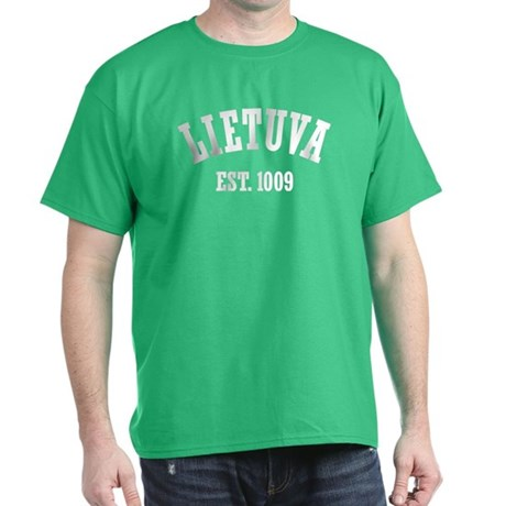 Classic Lietuva Est. 1009 Dark T-Shirt