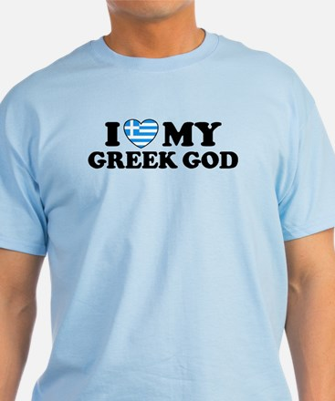 I Love My Greek God T-Shirt