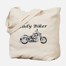 Lady Biker I Tote Bag