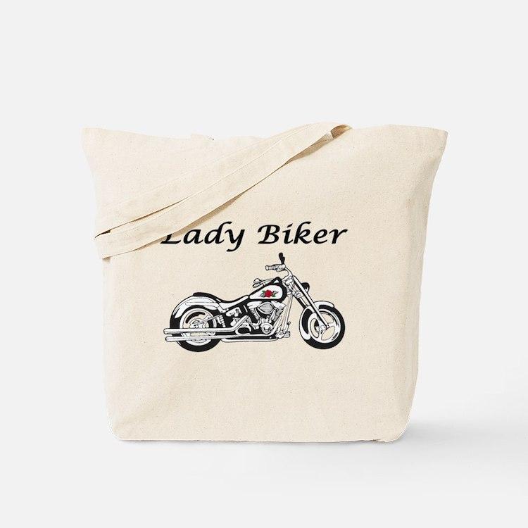 Lady Biker I Tote Bag