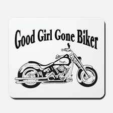 Good Girl Biker II Mousepad
