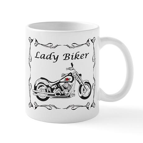 Lady Biker II Mug