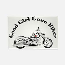 Good Girl Biker I Rectangle Magnet