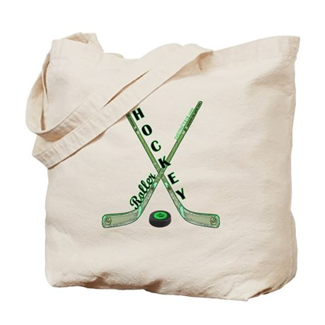 ROLLER HOCKEY Tote Bag