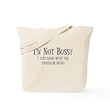 Not Bossy Tote Bag