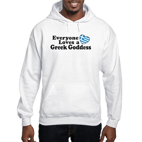Greek Goddess Hooded Sweatshirt