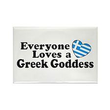Greek Goddess Rectangle Magnet
