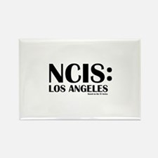NCIS Los Angeles Rectangle Magnet