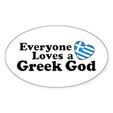 Everyone Loves a Greek God Decal