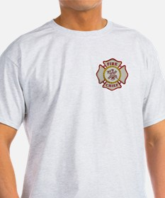Fire Chief Maltese T-Shirt