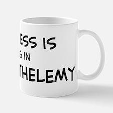 Happiness is St. Barthelemy Mug