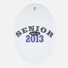 Senior Class of 2013 Ornament (Oval)