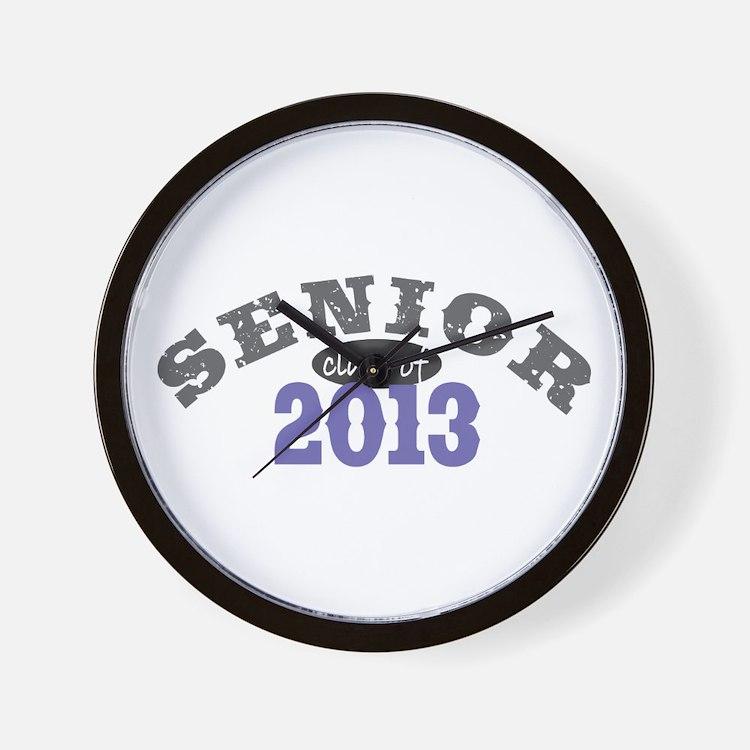Senior Class of 2013 Wall Clock