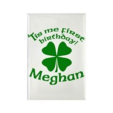 Personalized for Meghan Rectangle Magnet
