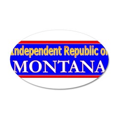 Montana-2 22x14 Oval Wall Peel