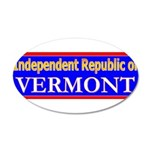 Vermont-2 22x14 Oval Wall Peel