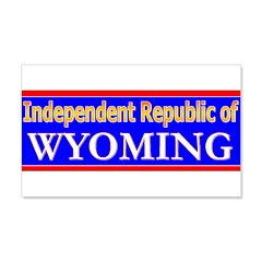 Wyoming-2 22x14 Wall Peel