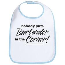 Bartender Nobody Corner Bib