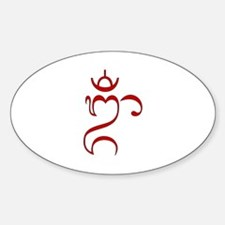Balinese OM Decal