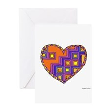 Stair-step Heart Greeting Card