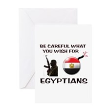 TERRORISTS ARE COMING Greeting Card