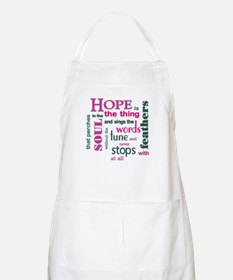 Hope with Feathers Apron