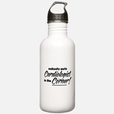 Cardiologist Nobody Corner Water Bottle
