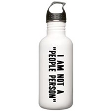 """People Person"" Stainless Water Btl 1.0L"