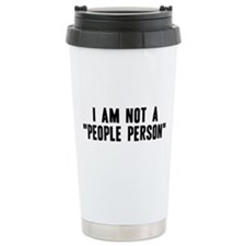"""People Person"" Travel Mug"